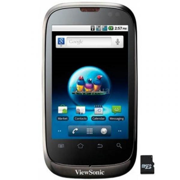 Мобильный телефон Viewsonic V350 Black