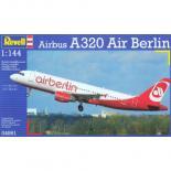 Сборная модель Revell Пассажирский самолет Airbus A320 AirBerlin 1:144 Фото