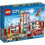 Конструктор LEGO City Fire Пожарная часть Фото