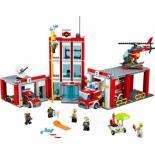 Конструктор LEGO City Fire Пожарная часть Фото 1