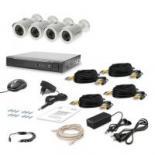 Комплект видеонаблюдения Tecsar AHD 4OUT LUX Фото