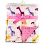 Одеяло Luvable Friends двухстороннее  для девочек Фото