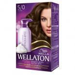 Краска-мусс для волос Wellaton стойкая 5/0 Темный дуб Фото