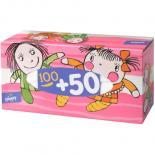Носовые платки Bella универсальные Детские 100+50 шт Фото