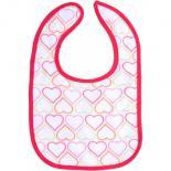 Слюнявчик Luvable Friends 5 шт для девочек с надписями, розовый Фото 2