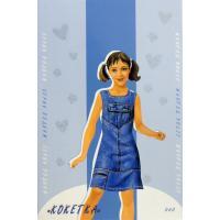 Ігровий набір Умная бумага Кукла-наряжайка Кокетка Фото