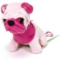 Мягкая игрушка Chi Chi Love Мопс с розовой мордочкой Мини-модница 10 см Фото