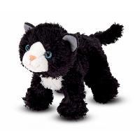 М'яка іграшка Melissa&Doug Черный котенок Лекси 16 см Фото