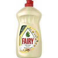 Средство для мытья посуды Fairy Нежные руки Ромашка и Витамин Е 500 мл Фото