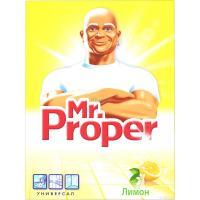 Чистящее средство Mr. Proper универсальный, Лимон 400 г Фото