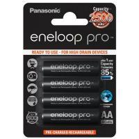 Аккумулятор Panasonic Eneloop Pro AA 2500mAh NI-MH * 4 Фото