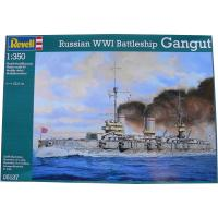 Сборная модель Revell Линкор Russian Battleship Gangut (WW I) 1:350 Фото
