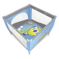 Детский манеж Baby Design Play Up 03 Blue с кольцами Фото