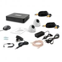 Комплект видеонаблюдения Tecsar AHD 2IN DOME Фото