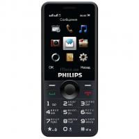 Мобильный телефон PHILIPS Xenium E168 Xenium Black Фото