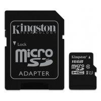 Карта памяти Kingston 16GB microSDHC class 10  UHS-I Canvas Select Фото