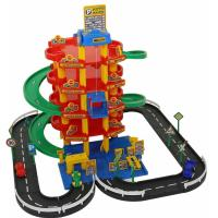 Ігровий набір Polesie Wader Паркинг 5-уровневый с дорогой и автомобилями Фото