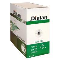 Кабель мережевий Dialan UTP 305м КНПп 4*2*0,50 [СU] cat.5e, внеш., проволк Фото