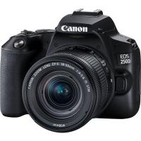Цифровой фотоаппарат Canon EOS 250D kit 18-55 IS STM Black Фото