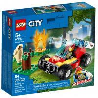Конструктор LEGO City Fire Лесные пожарные 84 детали Фото