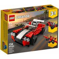 Конструктор LEGO Creator Спортивный автомобиль 134 детали Фото