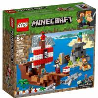 Конструктор LEGO MINECRAFT Приключения на пиратском корабле 386 дет Фото