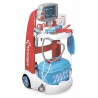 Ігровий набір Smoby Тележка медицинской помощи с оборудованием Фото