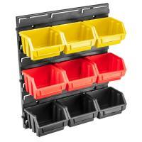 Ящик для інструментів Topex панель с лотками 34.5 x 38.5 x 12.5 см Фото