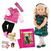 Кукла Our Generation DELUXE - Одри-Энн с книгой Фото