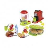 Ігровий набір Ecoiffier Chef с посудой и продуктами Фото