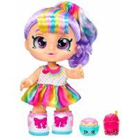 Кукла Kindi Kids Рэйнбоу Кейт SNACK TIME FRIENDS Фото