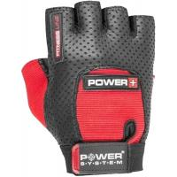 Перчатки для фитнеса Power System Power Grip PS-2800 S Black/Red Фото