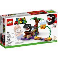Конструктор LEGO Super Mario Встреча в джунглях с Кусакой на цепи. Фото