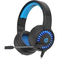 Навушники HP DHE-8011UM Gaming Blue LED Black Фото