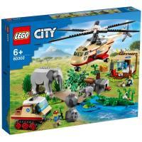 Конструктор LEGO City Операция по спасению зверей 525 деталей Фото