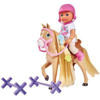 Лялька Simba Эви Холидей Конюшня с лошадкой и аксессуарами Фото