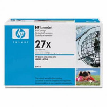 Картридж HP LJ  27X 4000/4050 max (C4127X) - фото 1