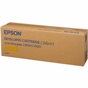 Картридж EPSON AcuLaser C900/ C1900 yellow (C13S050097) - фото 1