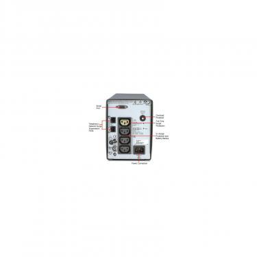 Пристрій безперебійного живлення Smart-UPS SC 620VA APC (SC620I) - фото 2