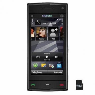 Мобильный телефон X6 Black 16Gb Nokia - фото 1