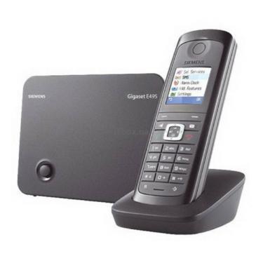 Телефон DECT Siemens Gigaset E490 Espresso - фото 1