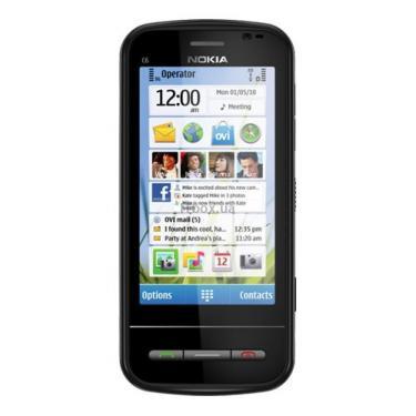 Мобильный телефон C6-00 Black Nokia (002Q3K5) - фото 1