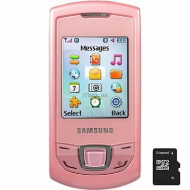 Мобільний телефон GT-E2550 (Monte Slide) Soft Pink Samsung (GT-E2550DID) - фото 1