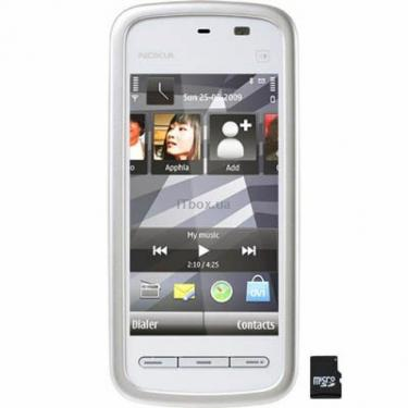 Мобильный телефон 5230 White Chrome Nokia (002V1L4) - фото 1