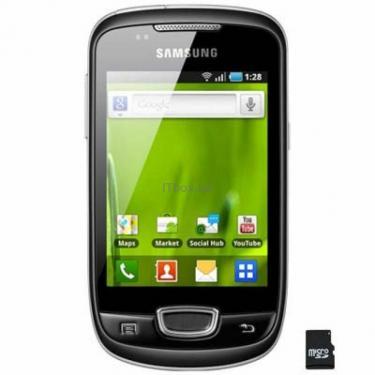 Мобільний телефон GT-S5570 (Galaxy Mini) Steel Gray Samsung (GT-S5570AAJ) - фото 1