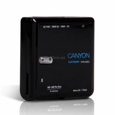 Считыватель флеш-карт CNR-CARD7 CANYON - фото 1