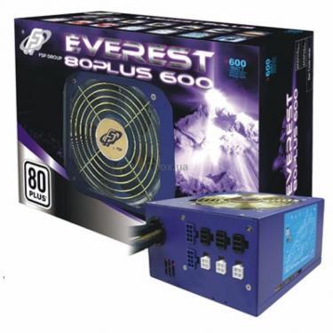 Блок питания FSP 600W EVEREST 80 PLUS (EVEREST 80PLUS 600) - фото 1