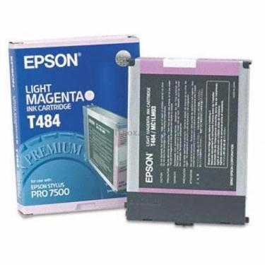 Картридж Epson St Pro 7500 light magenta (C13T484011) - фото 1