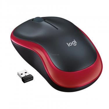 Мишка Logitech M185 red (910-002240) - фото 1