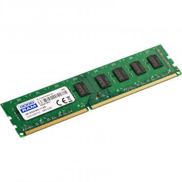 Модуль памяти для компьютера DDR3 4GB 1600 MHz Goodram (GR1600D364L11/4G) - фото 2